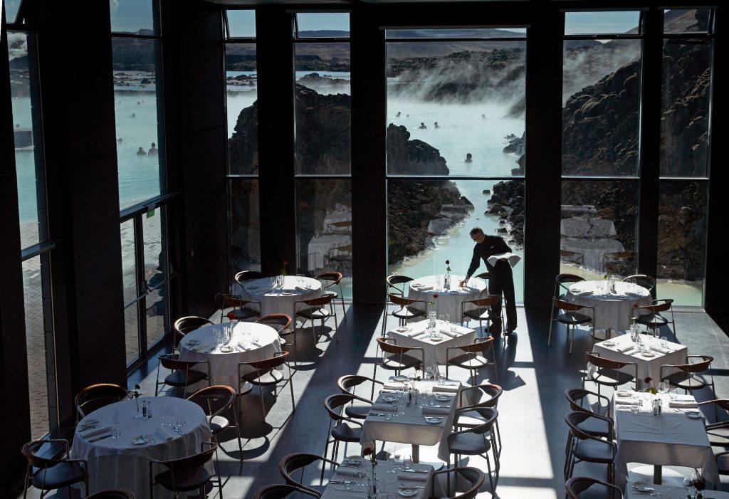 Restaurant Lava in der Blauen Lagune