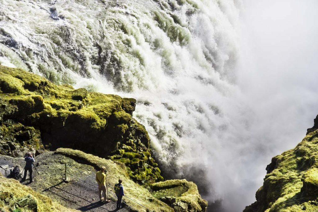 Wasserfall Gullfoss, Golden Circle, Island