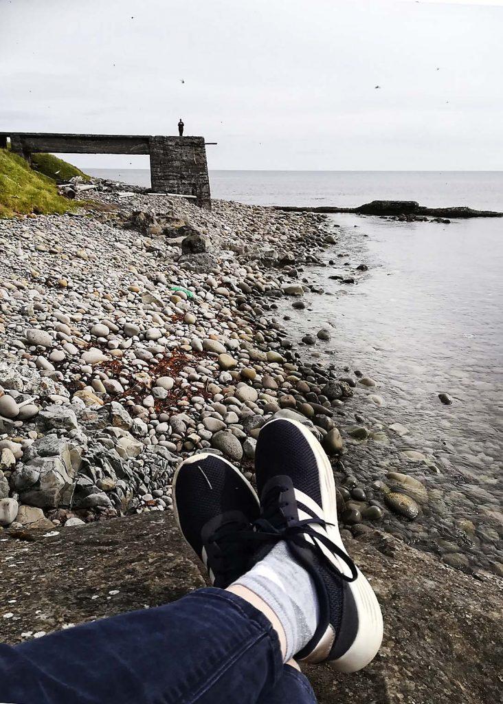 Ruhige Stunden am Meer