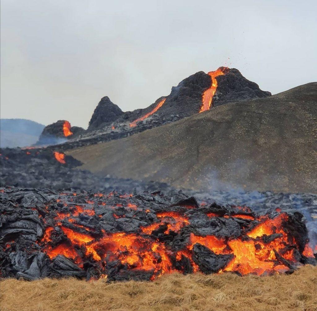 Haukur Hardar Eruption Island