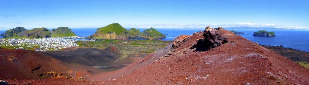 Vulkan Eldfell auf Heimaey