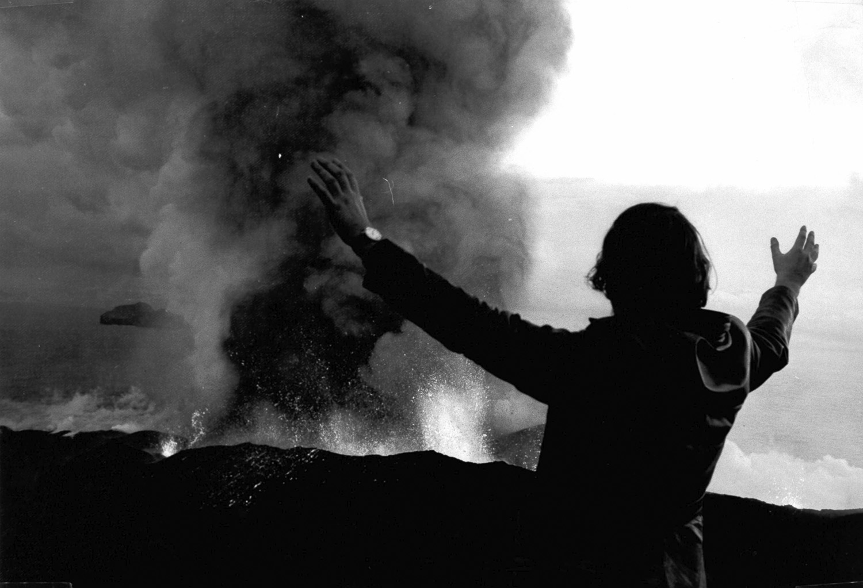 Vulkanausbruch auf Heimaey, 1973, Island