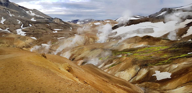 Landschaft Kerlingarfjoll Island