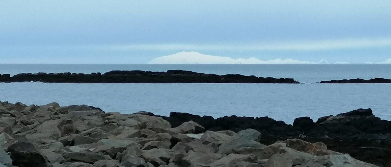 Snaefellsjökull Gletscher Westisland von Akranes aus betrachtet
