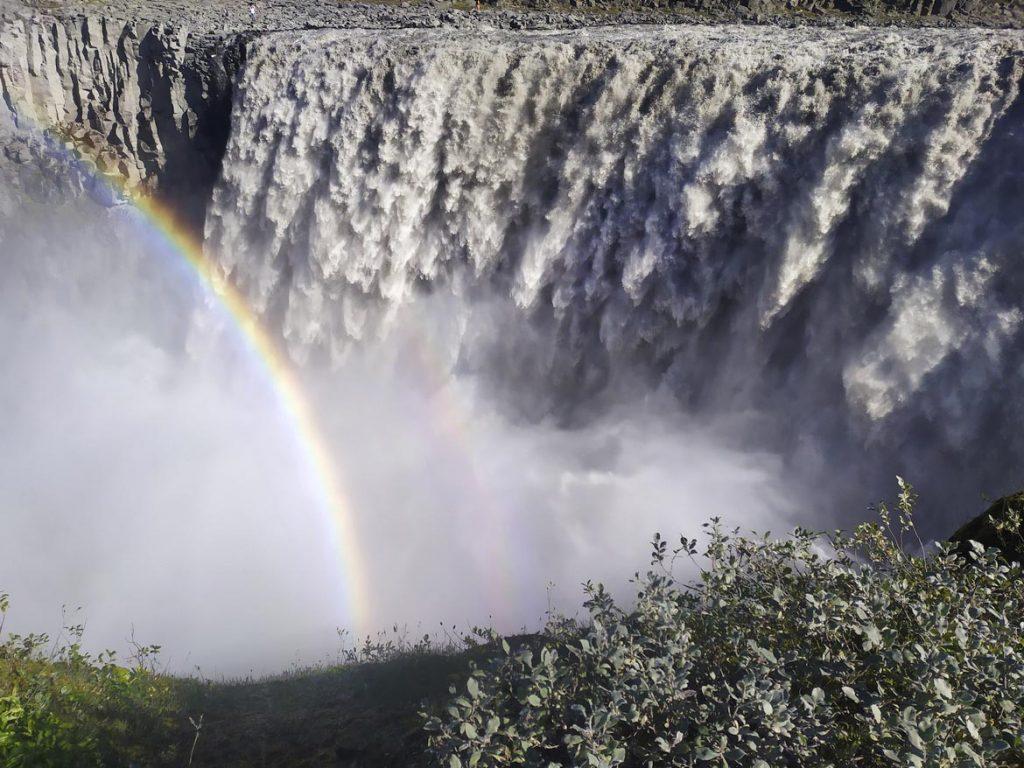 Wasserfall Dettifoss in Nodrisland
