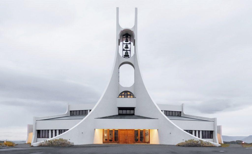 Kirche in Stykkishólmur, Westisland