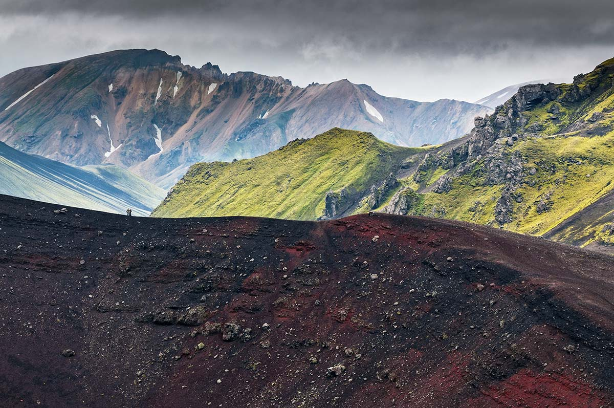 Die Berge von Landmannalaugar