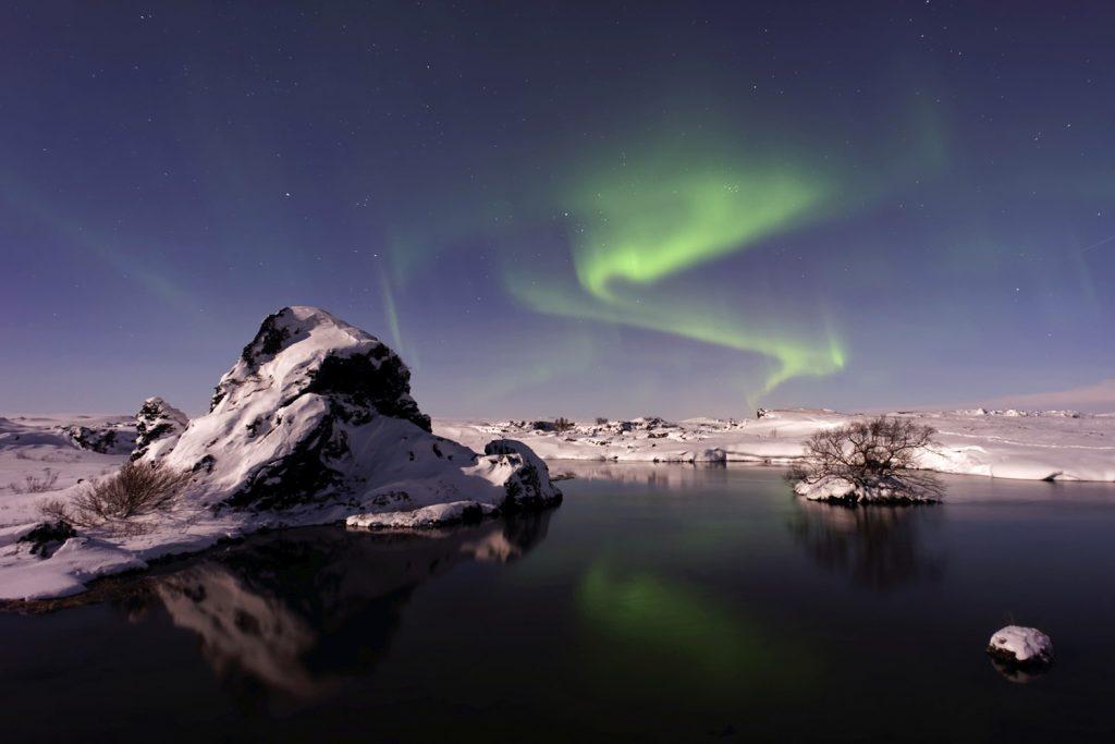 See Mývatn im Winter