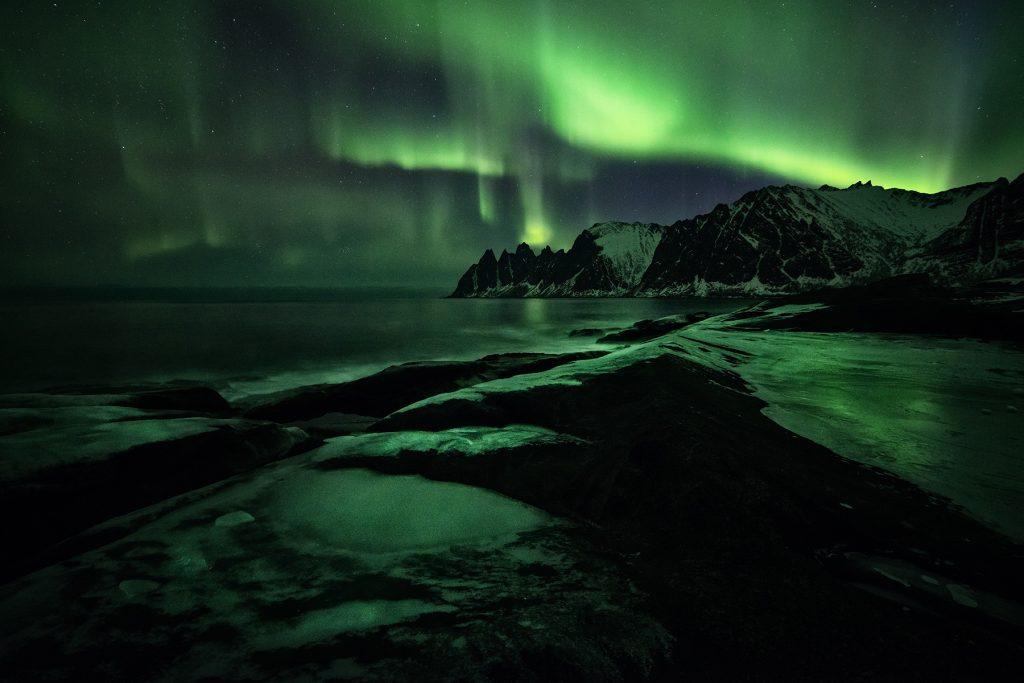 Polarlichter in Südisland