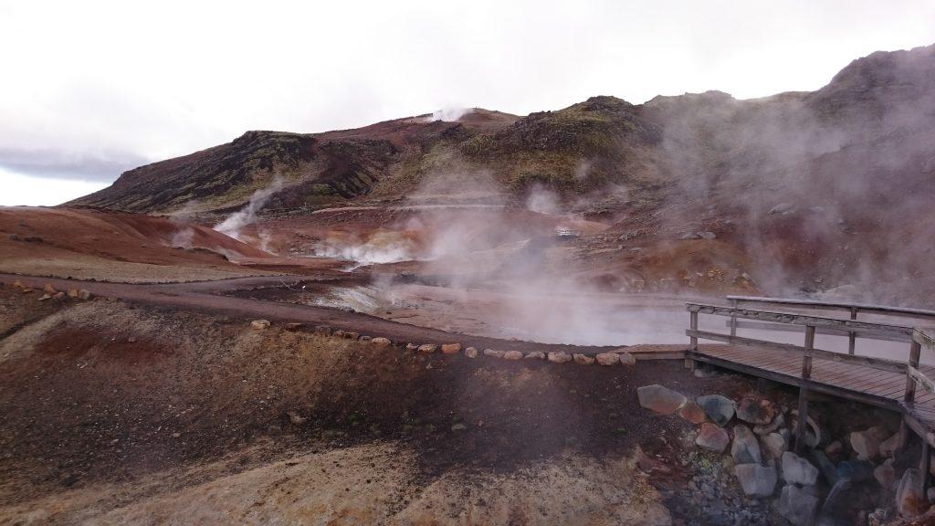 island reykjanes krysuvik vulkanisches gebiet