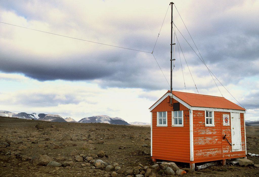 Schutzhütte, Hochland, Island