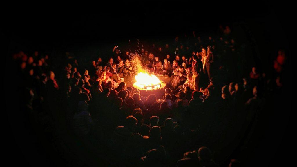 Silvesterfeuer gehören zu jedem Jahreswechsel in Island.