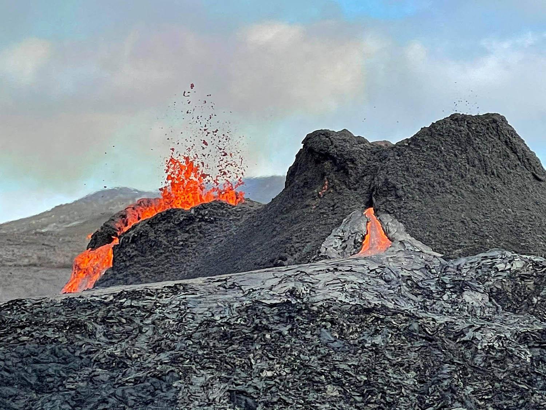 Island Vulkanausbruch Fagradalsfjall