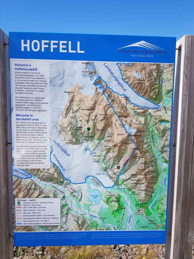 Wandergebiet Hoffell Südisland