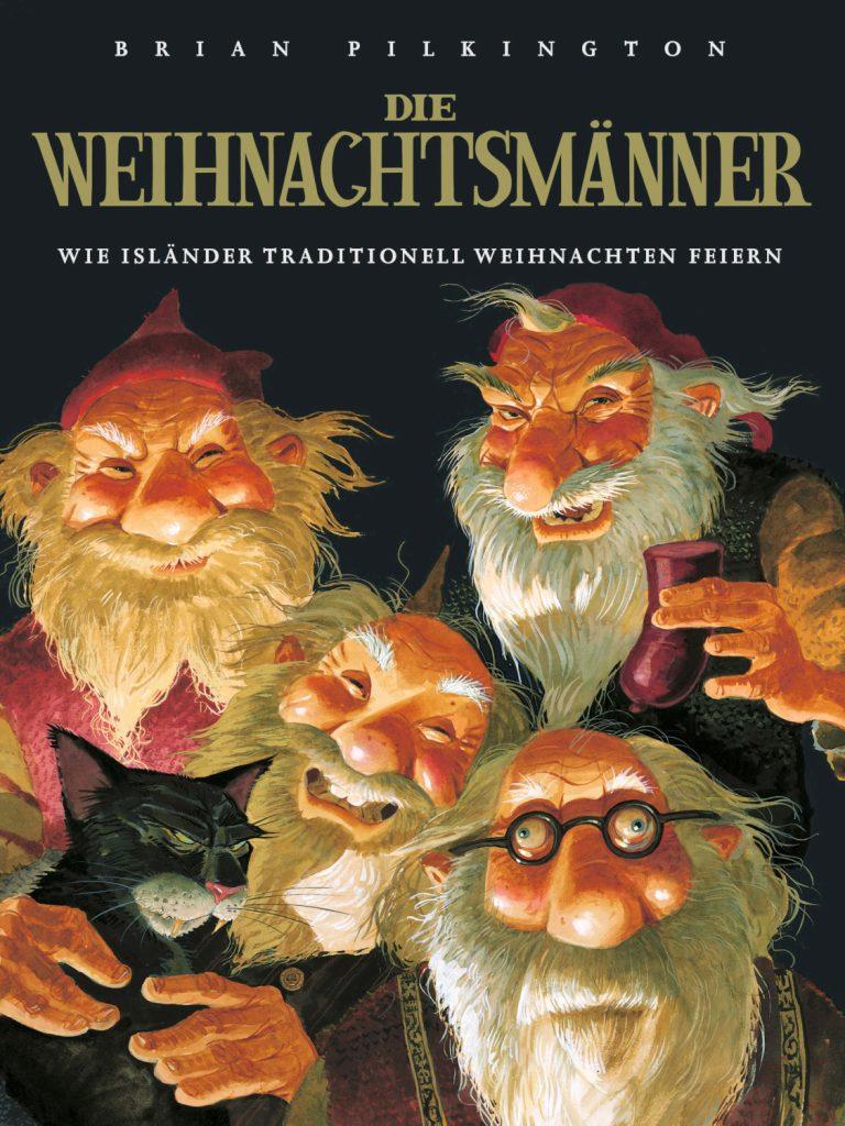 """Buchcover von Brian Pilkingtons """"Die Weihnachtsmänner"""""""