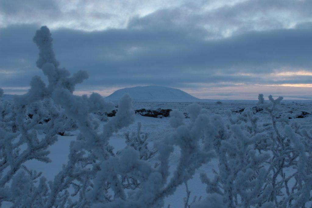 Winter in Island: Schneelandschaft wie aus dem Bilderbuch