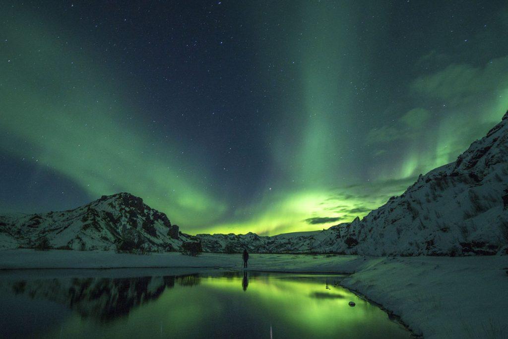 Polarlichter, Nordlichter, Island