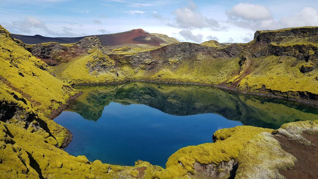 See an den Lakagigar Kratern