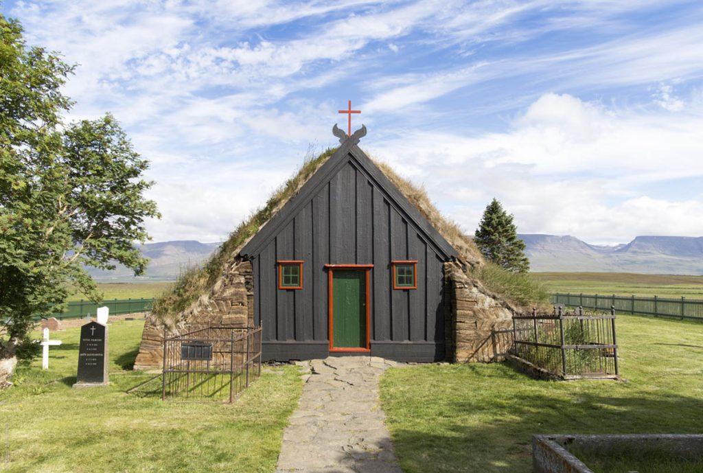 Torfkirche, Vidimyrarkirkja, Island